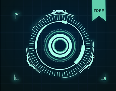 HUD Titles - Free After Effects Template