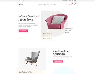 Teta - WooCommerce WordPress theme - furniture shop