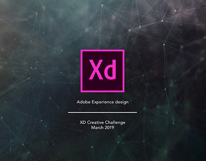 Adobe XD Creative Challenge March 2019 collection