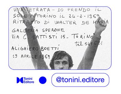 Tonini Editore → Visual Identity