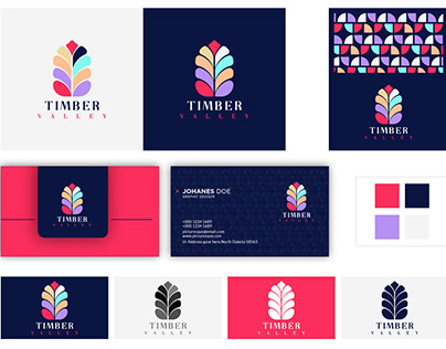 Timber Valley Brand identity Design