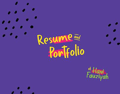 Creative Resume&Portfolio