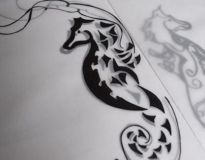 Ilustración - Tinta
