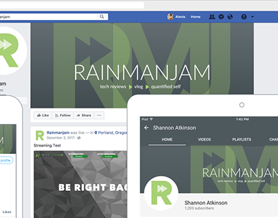 Rainmanjam Identity, 2018