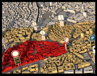 BRATISLAVA 3D city