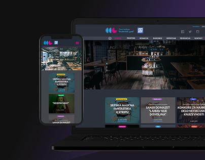 Cultural Center | Web Design