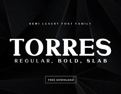 Free Download - Modern Sans/Slab Font Duo
