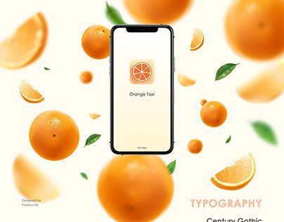 Orange Taxi Mobile app