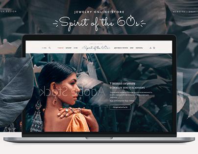 Jewelry online store concept - UI UX/ Design