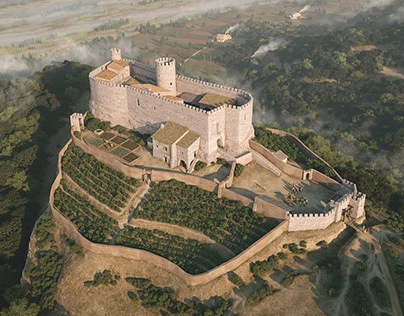 Castle of Castellbisbal (Barcelona), circa 1340