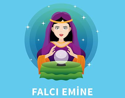 Falcı Emine App Design 01