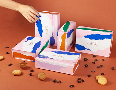 andINC. First 100% Online Pastry Box