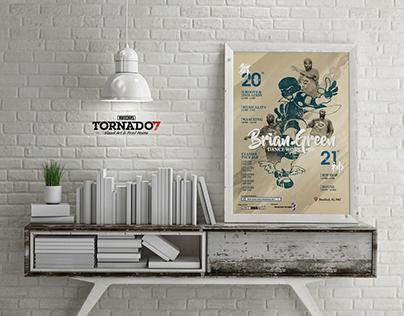 Brian Green Dance Workshop 2017 [Poster Design]