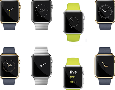 72 Faces of The Apple Watch