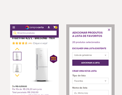 Landing Page para E-commerce - Compra Certa (CÓPIA)