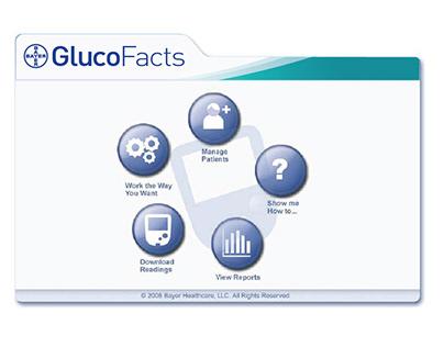 Bayer Diabetes Care Glucofacts desktop app