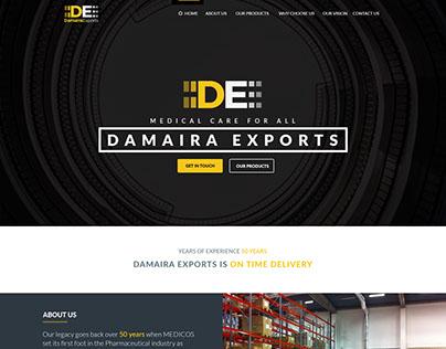 Website Design Damaira Exports