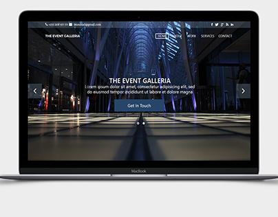 Event Galleria Website