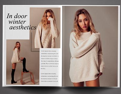 Fashion photography: editorial