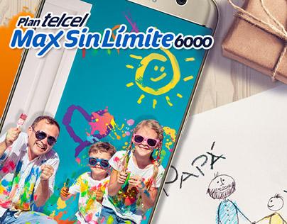 Telcel / Plan Max Sin Límite 6000