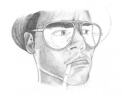 Drawing portrait pencil   B2C