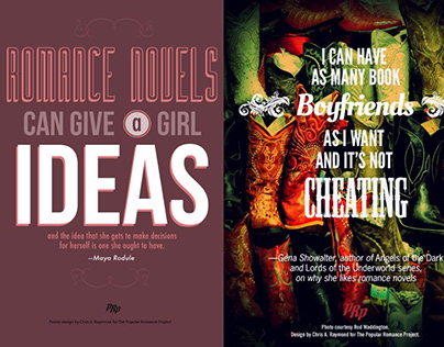 Poster Series, Popular Romance Project