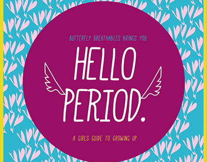 "Butterfly ""Hello Period"" Book"