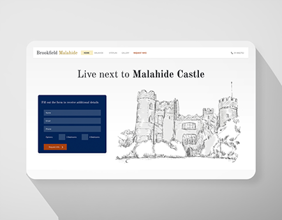 Brookfield Malahide Website