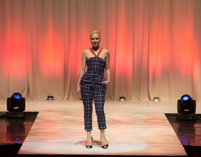 Plaid Pantsuit WITH VIDEO