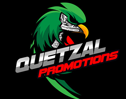 skydiving Quetzal Promotions Logo