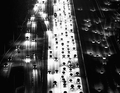 Los Angeles Night - Traffic