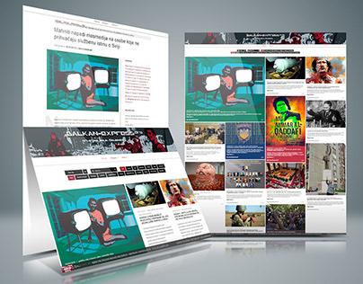 Balkan-express.org - Non-profit News website