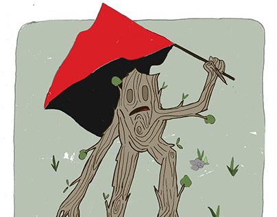 Tree protestor -2020