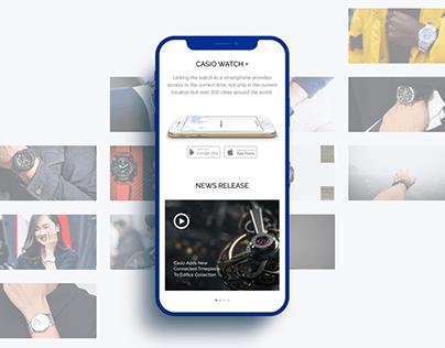 Casio Online Shop, Redesign