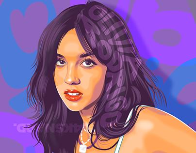 Olivia Rodrigo Fan Art Vector #1