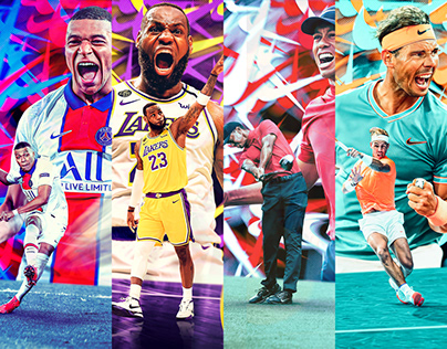 Four sports, Four athletes, One brand