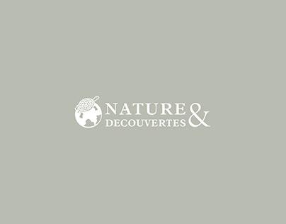 Présentoirs produits - NATURE & DÉCOUVERTE