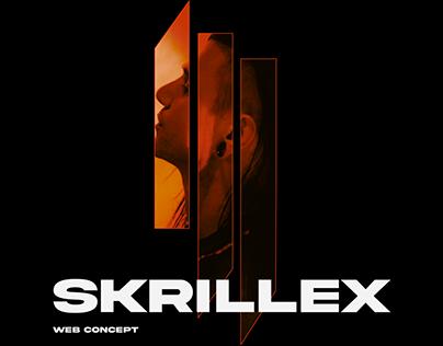 SKRILLEX Promo Web Concept