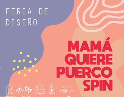 Mamá Quiere PuercoSpin - Feria de Diseño