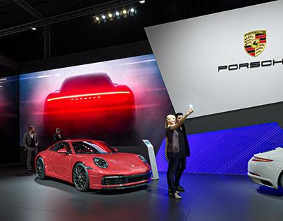 Porsche @ Brussels Motor Show 2020