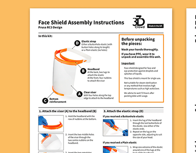 PPE Assembly Instructions