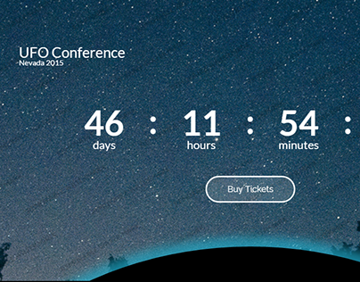 Conference Landing Page Template