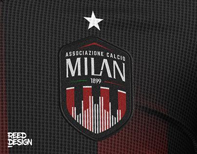 A.C. Milan Rebranded - New Logo & Jerseys