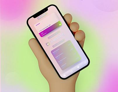 UI Design - Bank Card Concept