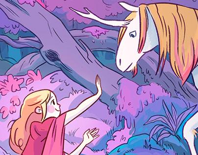 The princess and the Unicorn.