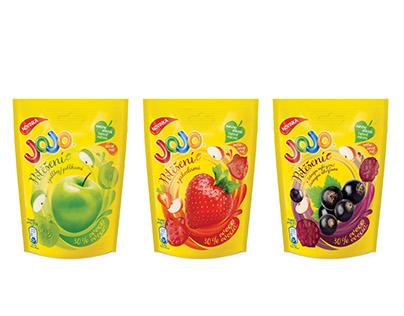 Packaging Design Jojo Potěšení