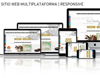 Sitio Web | RESPONSIVE: Comer de Oficio.