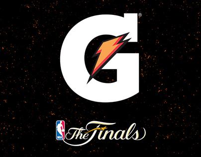 GATORADE MX - NBA FINALS POSTERS