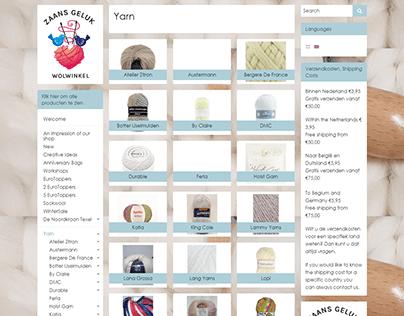 Ecommerce website with wordpress woocommerce