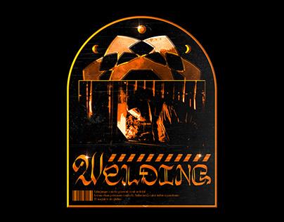 Welding - Typography Concept